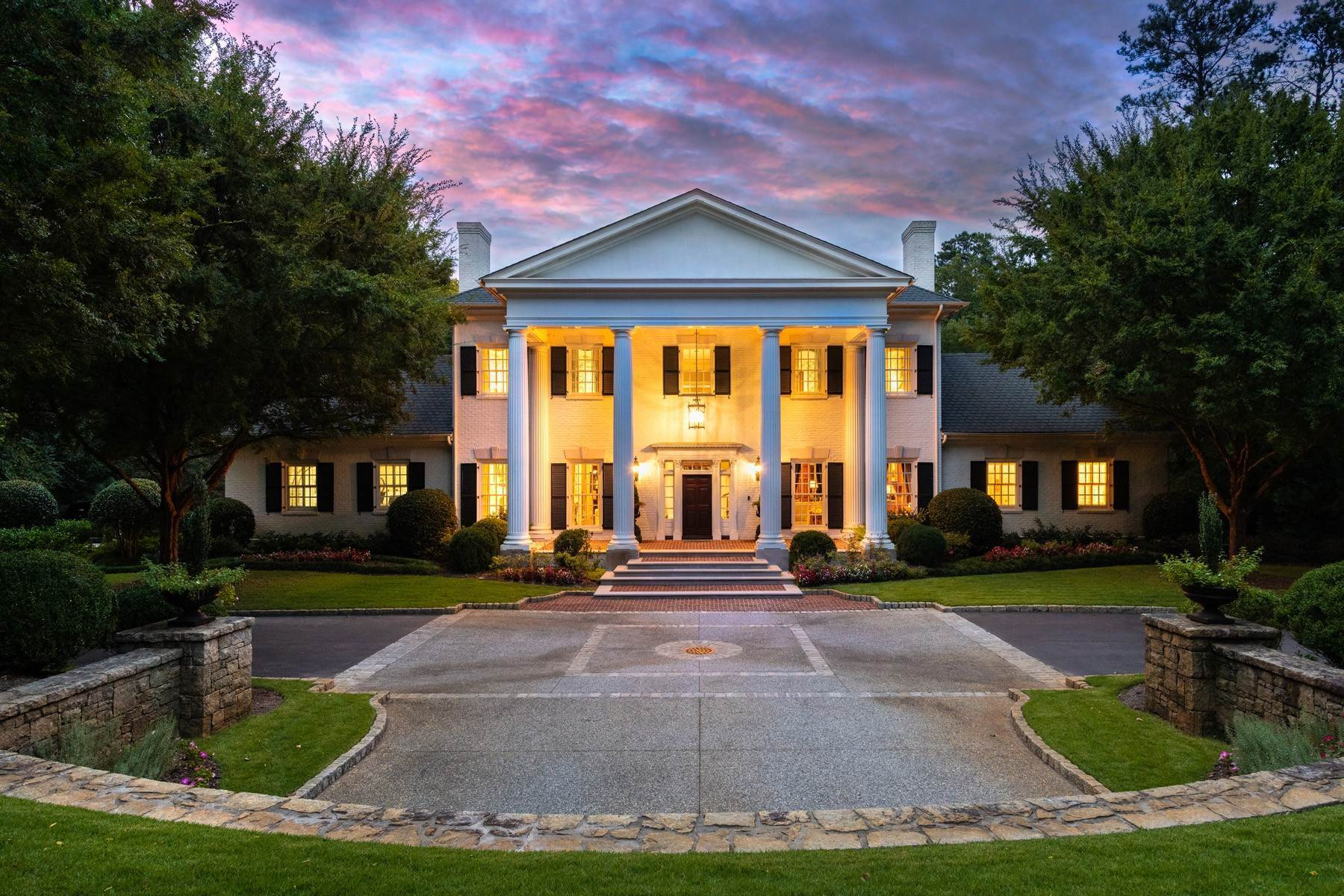 Single Family Homes at Magnificent +/- 5 Acre Gated Estate Property 3785 Paces Ferry Road NW Atlanta, Georgia 30327 United States