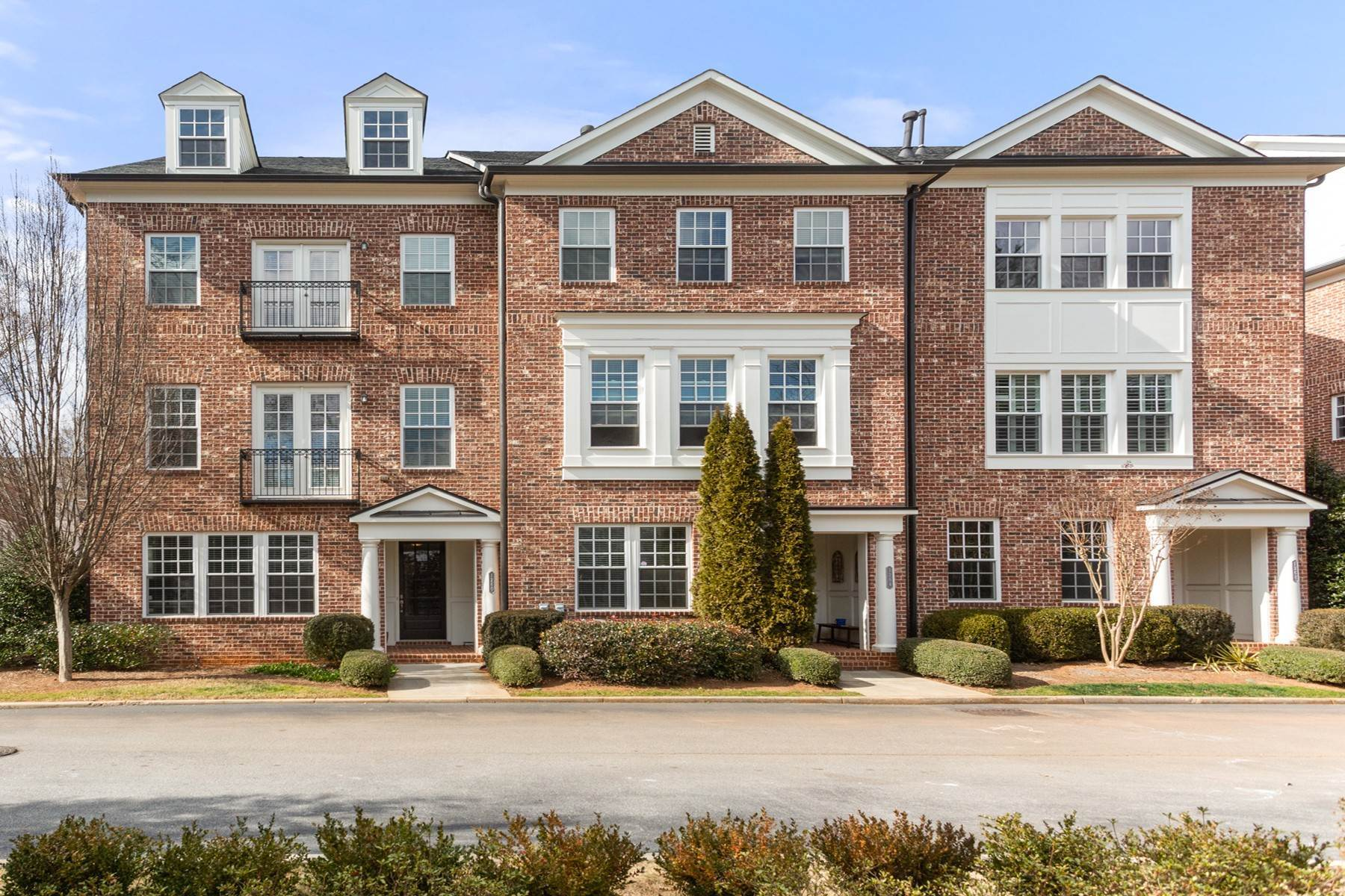 townhouses for Sale at Lovely Corner Unit Townhome Across from the Park 1260 Lullwater Park Circle Atlanta, Georgia 30306 United States
