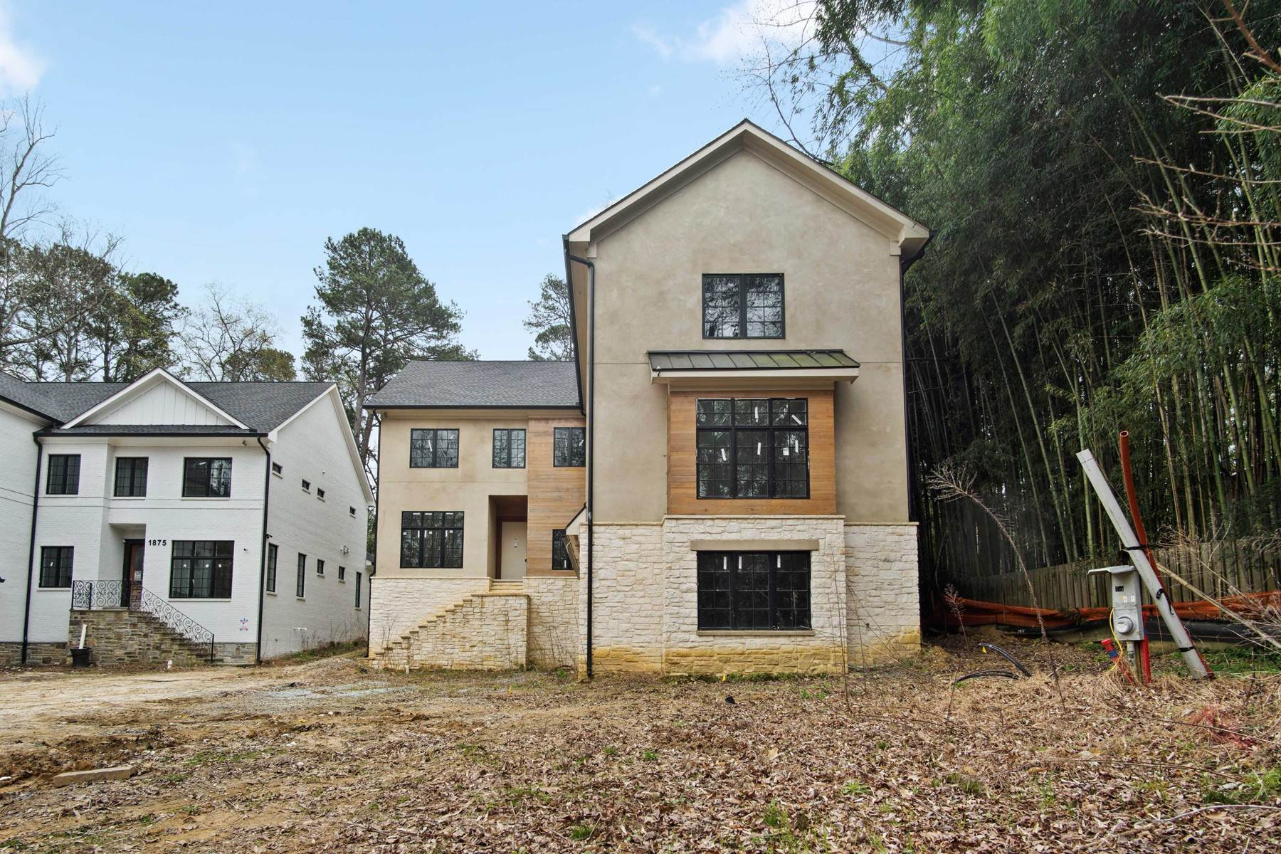 Single Family Homes for Sale at Sleek New Construction in the Heart of Morningside 1871 Windemere Drive Atlanta, Georgia 30324 United States