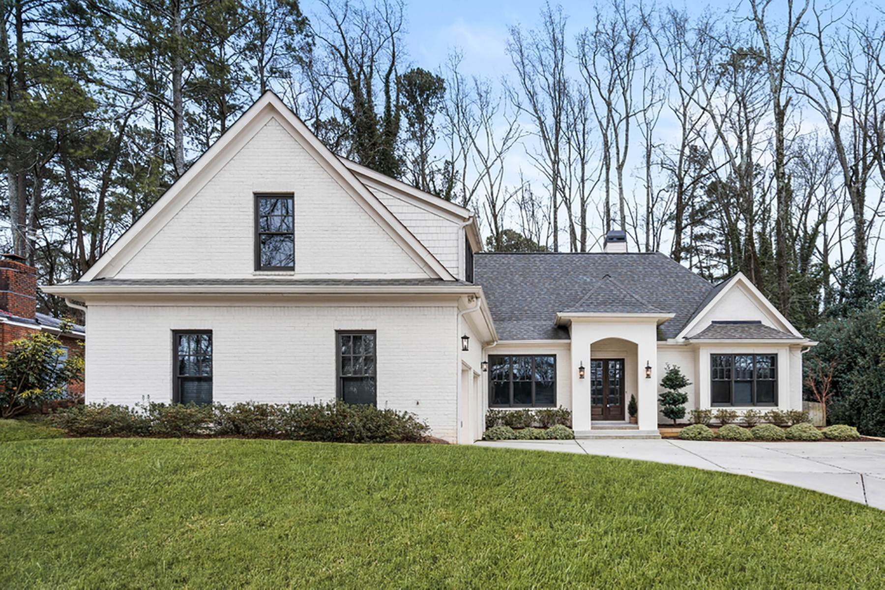 Single Family Homes for Sale at Custom Newly Built Brookhaven Home 1853 Remington Road Brookhaven, Georgia 30341 United States