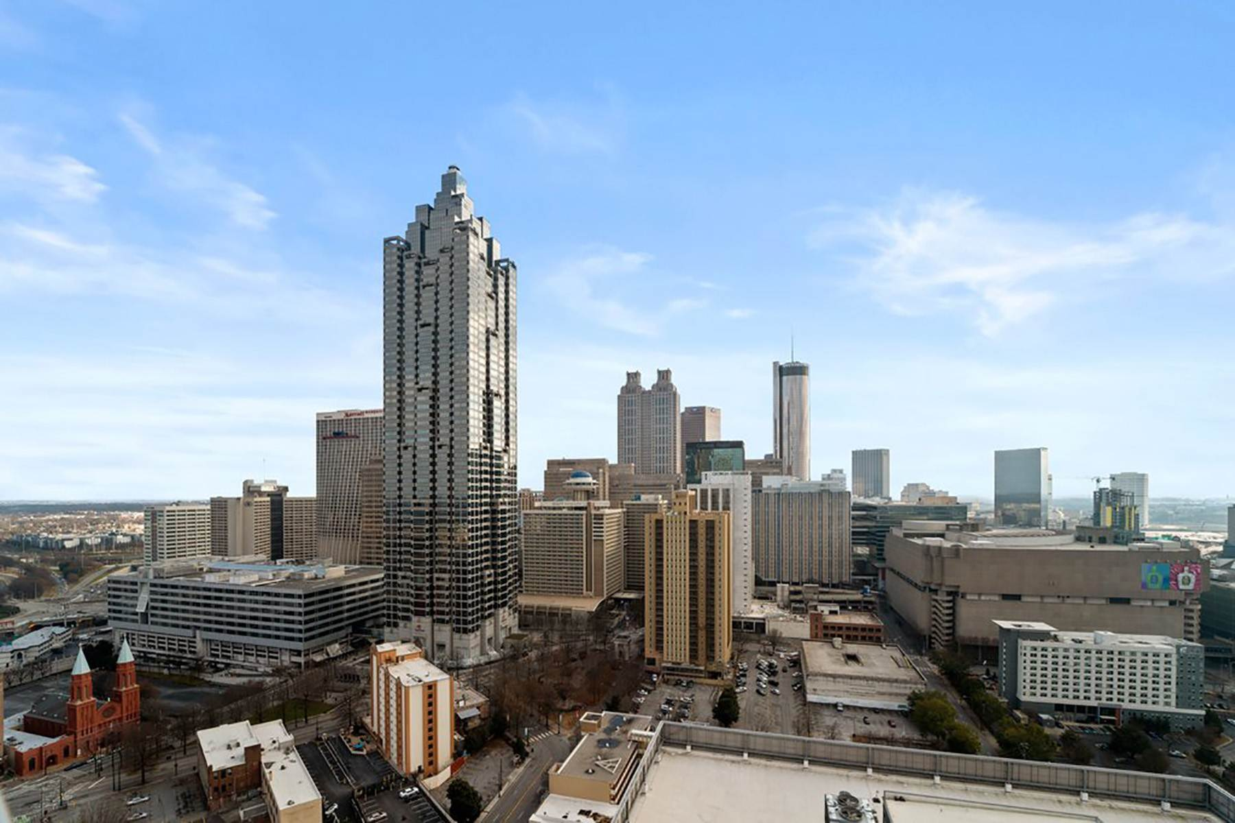 8. Condominiums for Sale at Sweeping South Facing Views From The 31st Floor of Twelve Centennial Park! 400 West Peachtree Street, 3107 Atlanta, Georgia 30308 United States
