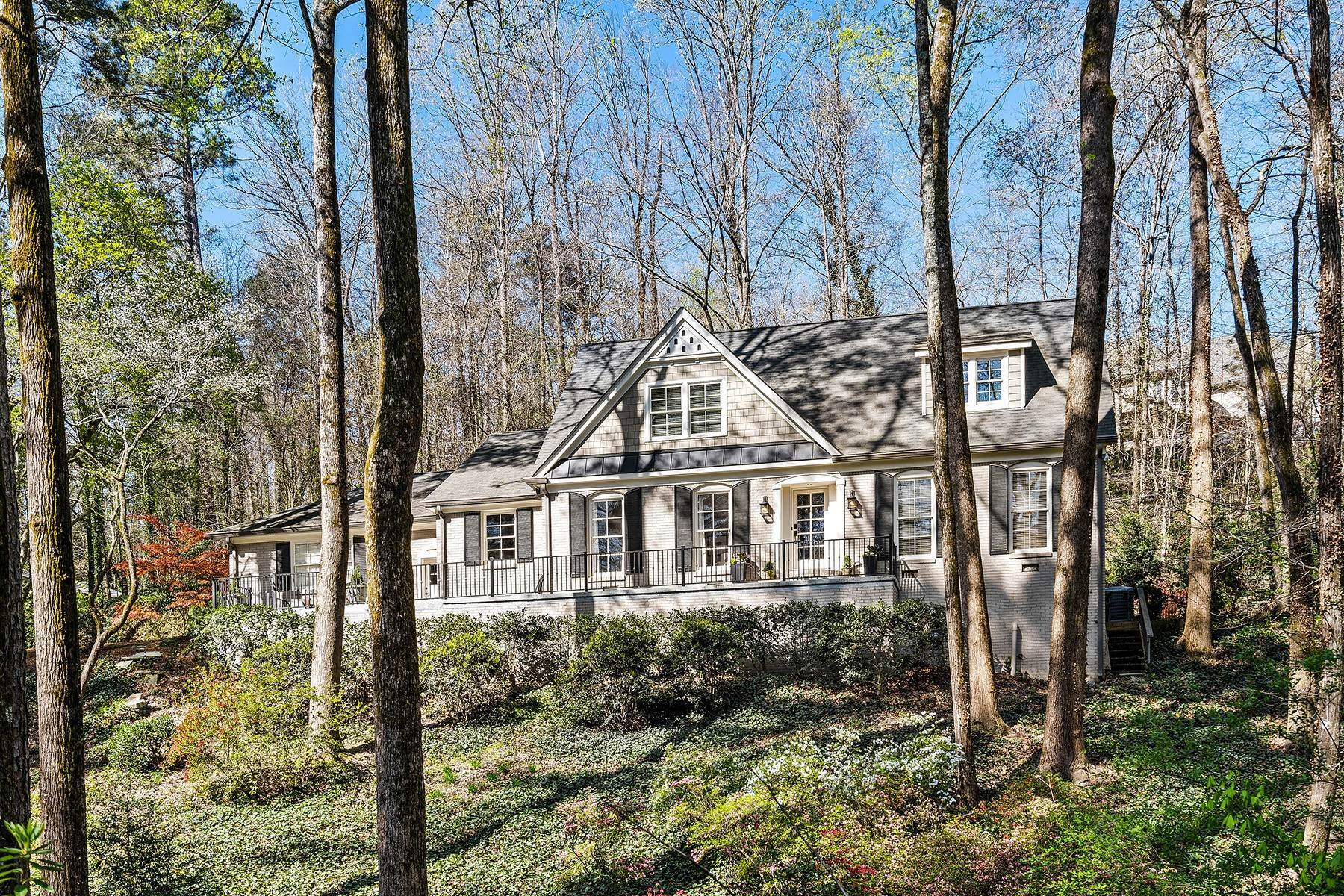Single Family Homes for Sale at Fabulous Updated and Expanded Home Near Chastain Park 4944 Carol Lane Atlanta, Georgia 30327 United States