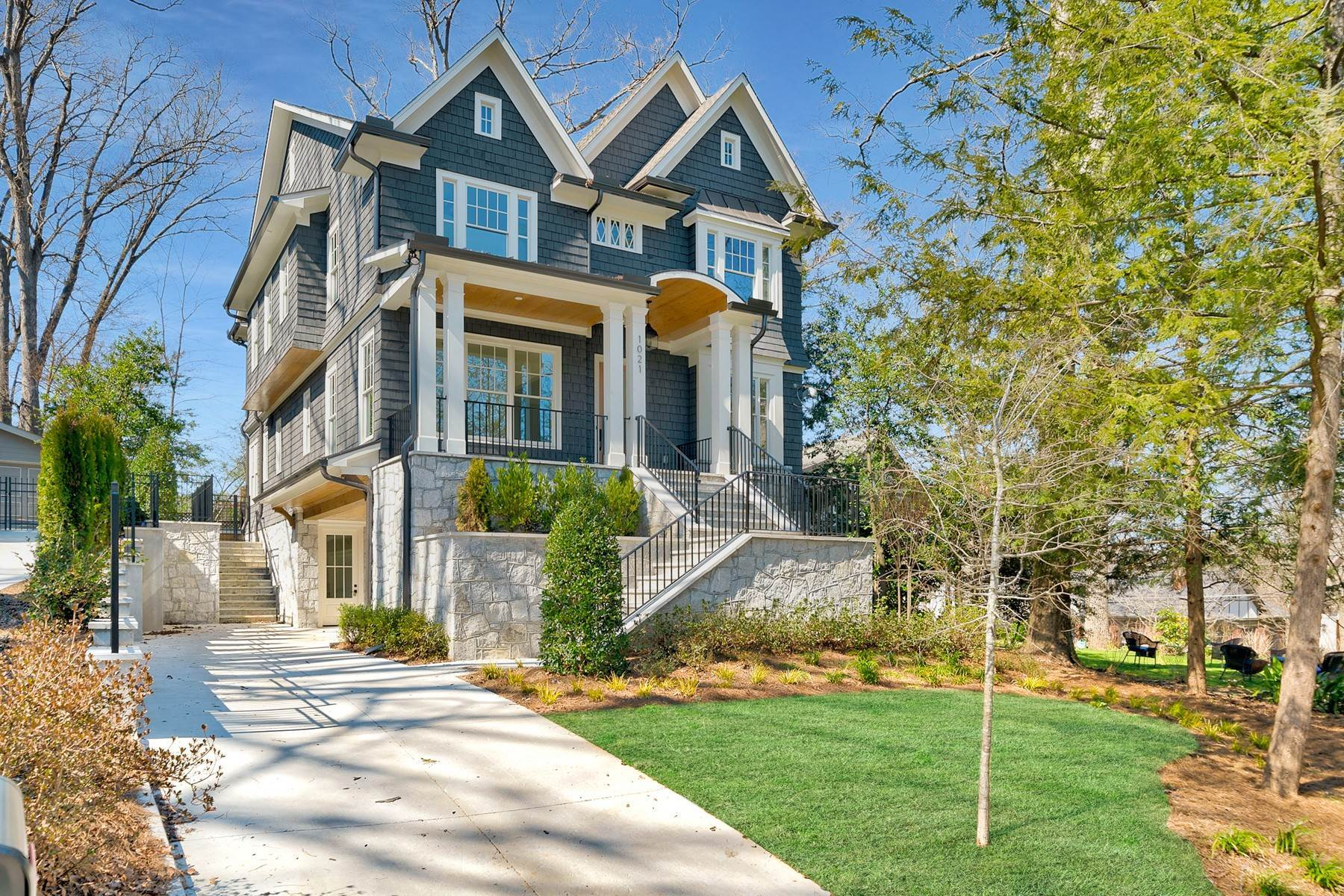 Single Family Homes for Sale at Custom-Built Home on One of Morningside's Most Desirable Streets 1021 Reeder Circle Atlanta, Georgia 30306 United States