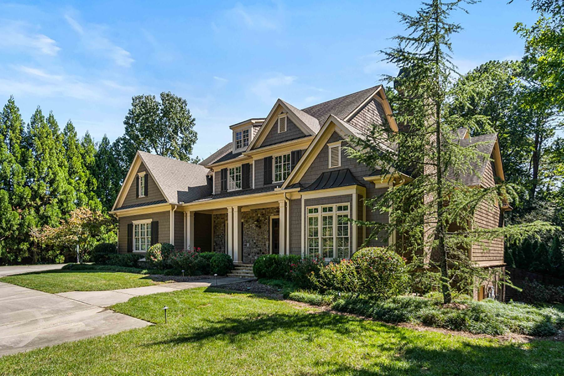 Single Family Homes for Sale at Private Estate on an Acre in Chastain Area 4968 Long Island Drive NW Atlanta, Georgia 30327 United States