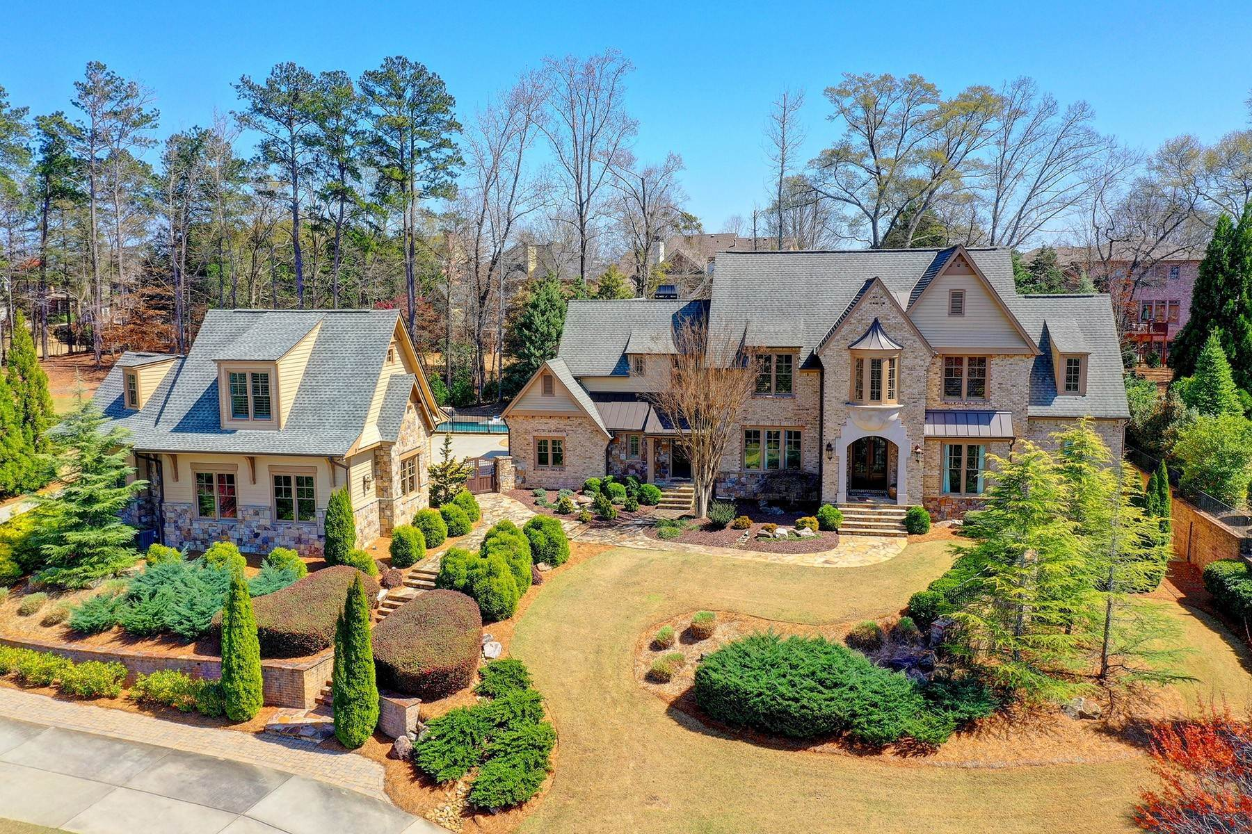 Single Family Homes for Sale at Your Very Own Private Resort A Must See 4843 Ipswitch Glen Suwanee, Georgia 30024 United States