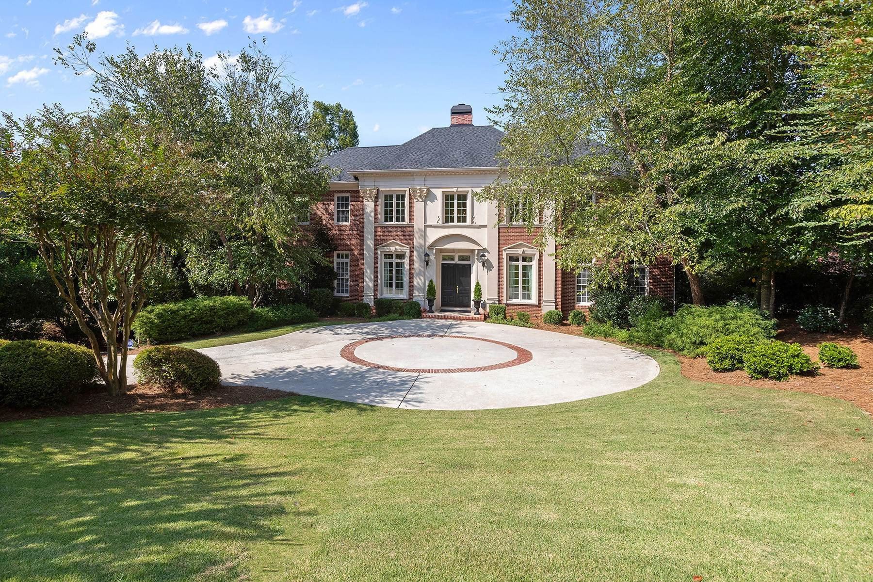 Single Family Homes for Sale at Stunning Riverfront Home in Peachtree Corners Overlooking AAC Golf Course 3831 River Mansions Drive Peachtree Corners, Georgia 30096 United States