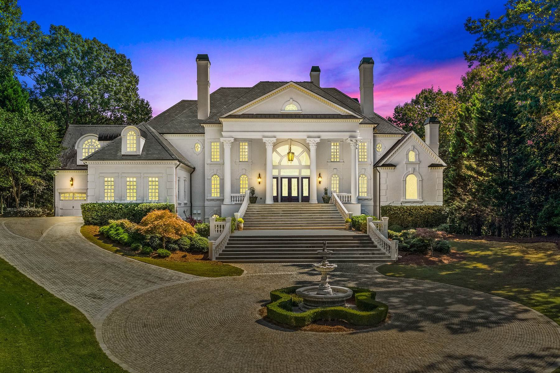 Single Family Homes at Majestic Estate Situated on Over a Two Acre Lot 3377 Nancy Creek Road NW Atlanta, Georgia 30327 United States