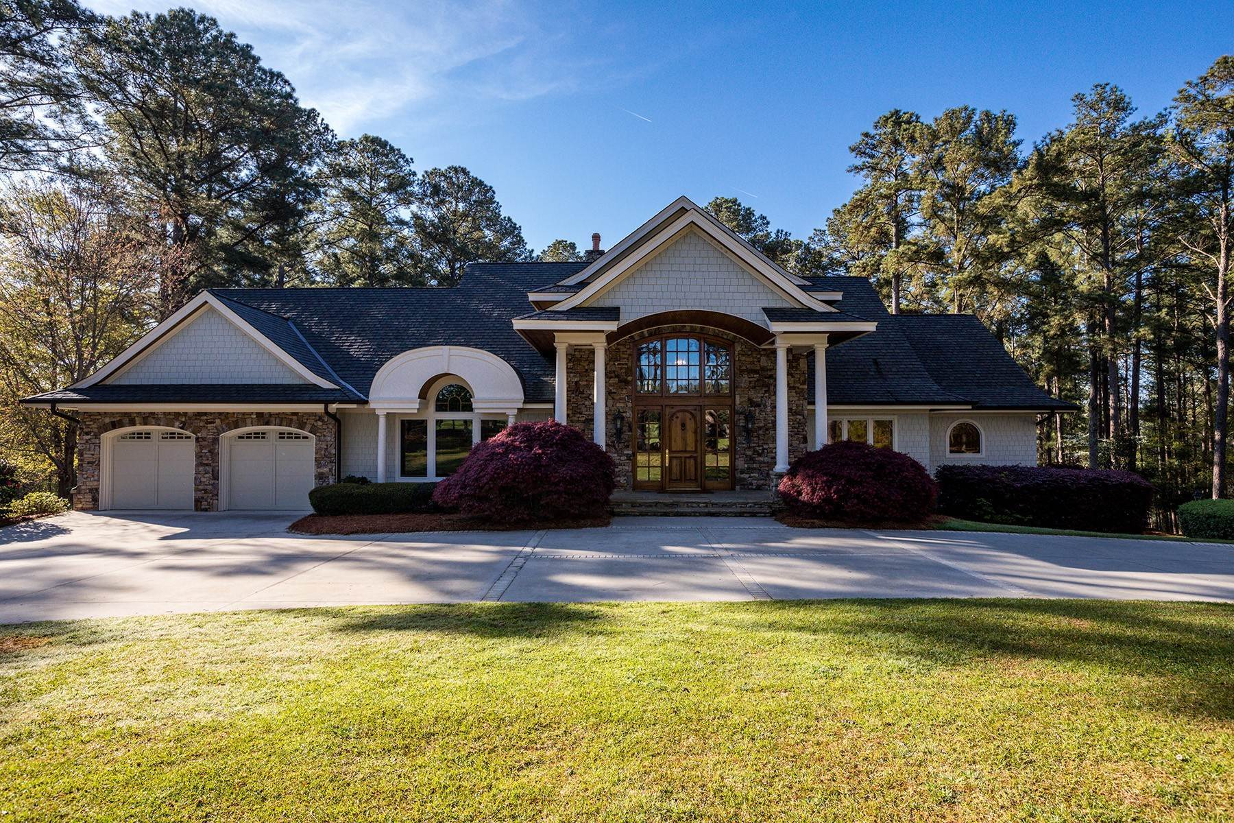 Single Family Homes for Sale at Private, Gated Entry Prefaces Tree-Lined Drive With Rolling Pasture Views 52 Chigoe Lane Appling, Georgia 30802 United States