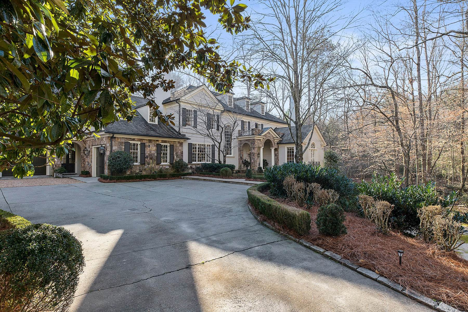 Single Family Homes for Sale at Gorgeous Home with Beautiful Interior and Exterior Architectural Detail 4359 Whitewater Creek Road NW Atlanta, Georgia 30327 United States