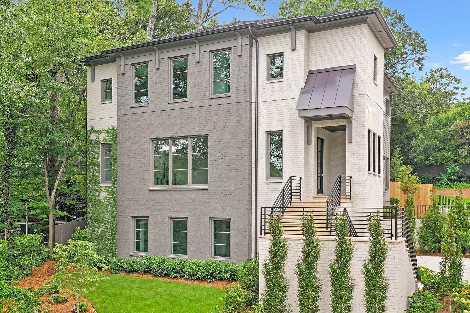 Single Family Homes for Sale at Impressive New Home by John Willis Custom Homes 1785 Noble Drive NE Atlanta, Georgia 30306 United States