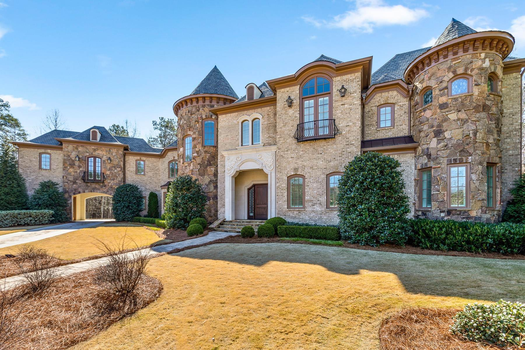 Single Family Homes for Sale at Exquisite Custom Home In Gated Community Near The Battery 3660 Rivers Call Boulevard Atlanta, Georgia 30339 United States