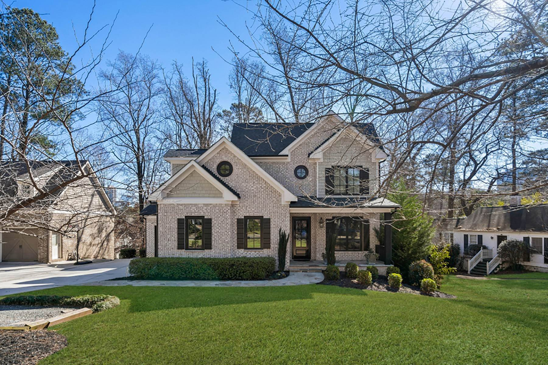 Single Family Homes for Sale at North Buckhead Home with Superior Quality and Finishes 229 Old Ivy Road NE Atlanta, Georgia 30342 United States